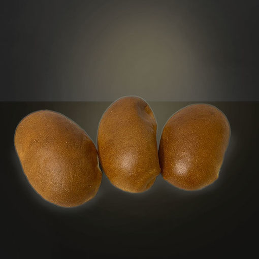 Afbeelding van Puntbroodjes wit
